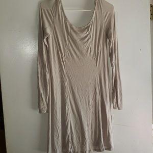 Light Cream - •Victoria's Secret• | Ribbed Dress